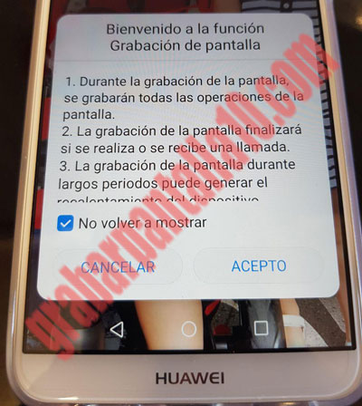 aviso-grabacion-pantalla-huawei-p-smart