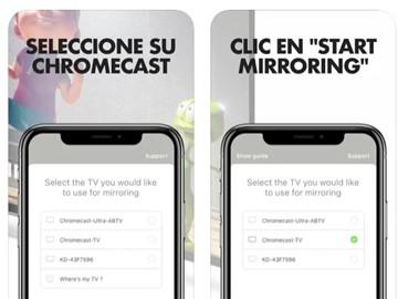 Duplicar pantalla Chromecast iPhone